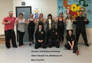 Women Self Def Workshop Mar 2017