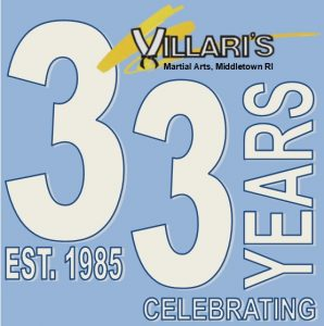33 Year MIDDLETOWN RI Villaris Logo