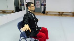 Jesse Harding Tai Chi in CHAIR Livestrong