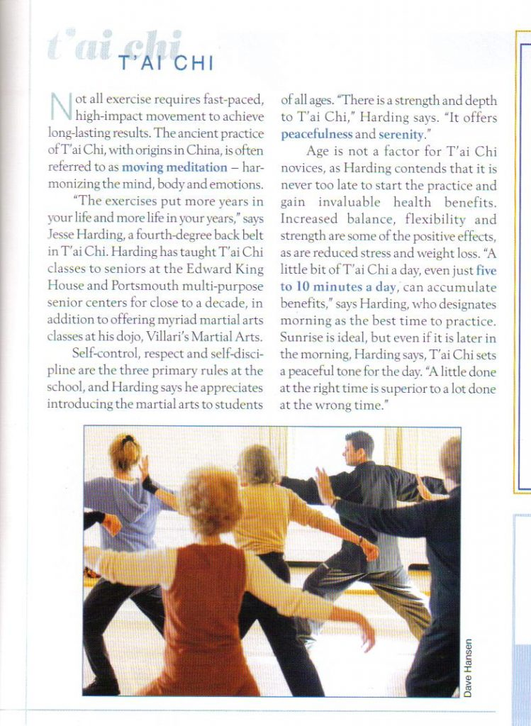 Newport Life Mag article Winter 07 Edition