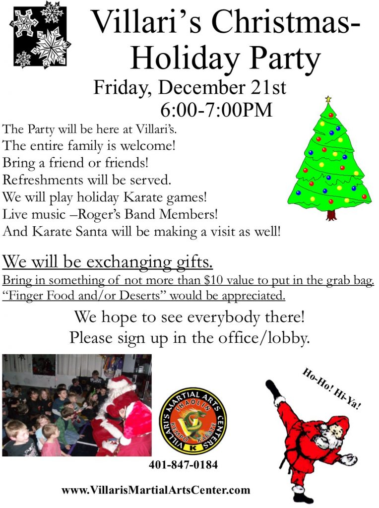 Holiday Party Villaris Dec 21 2018 villaris-ri.com