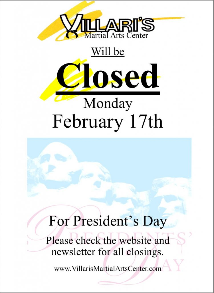 Villaris Closed Feb 17 2020