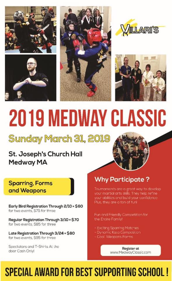 medway Villari Tournament Mar 31 2019