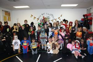 halloween party dojo oct 2010